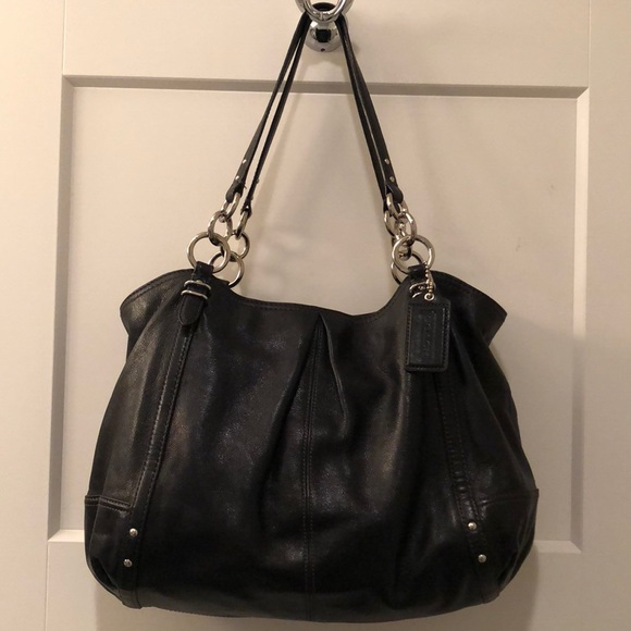 62e199685c Like New Authentic Coach Alexandra Leather Tote